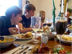 Thanksgiving 07 kids