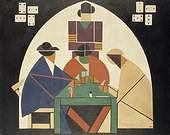 Theo van Doesburg. Los jugadores de cartas 1916/1917.