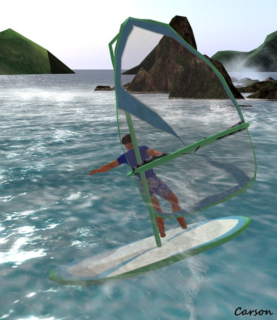 Sterling Artistry Boutique  - Windsurfing Sailboard