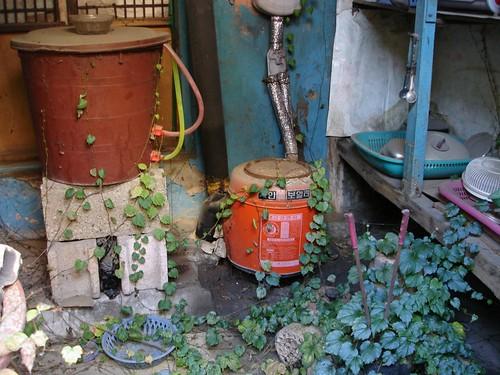 Alt Gimhae verlassenes Haus
