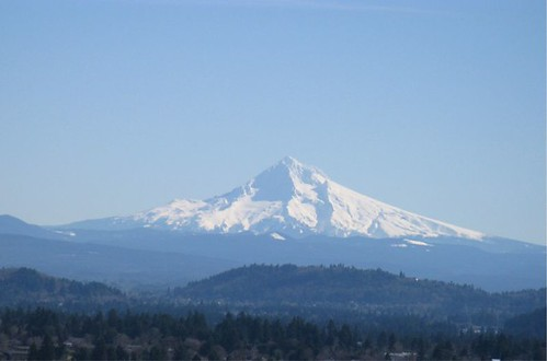 Mount Hood from Mount Tabor