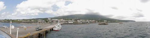 Izu-Oshima island