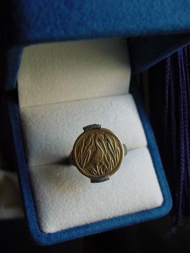 Loud & Cie Art Nouveau Crane Ring