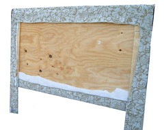 Completed Headboard - back