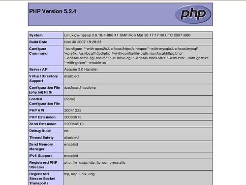 Apache-PHP-Mysql-Installation