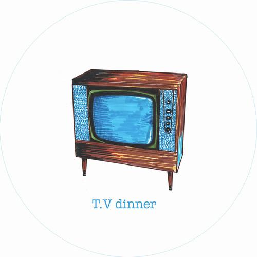 tv dinner plate