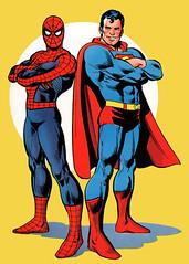 Super-Homem e Homem-Aranha - CLIQUE PARA AMPLIAR