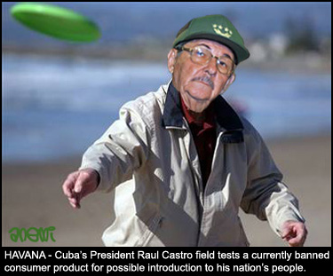 Raul Castro gets air