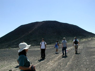 Geology Class at Amboy Crater - 06
