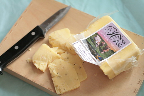 Local Savory Herb Cheddar