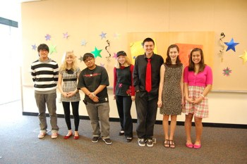Talent show contestants