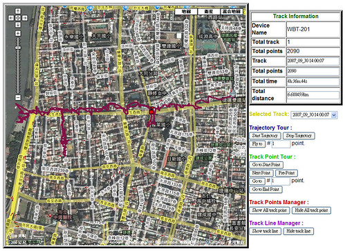 2007/09/30 GPS-maps