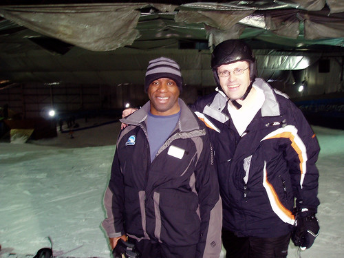 Greg and Snowboarding instructor