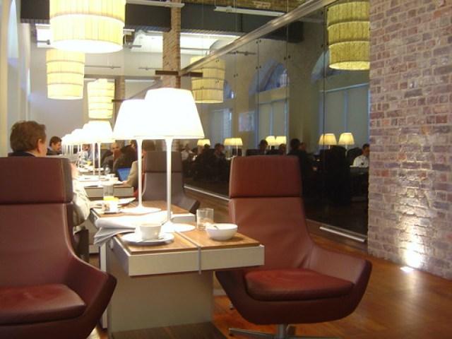 Eurostar Business Premier Lounge St Pancras International Railway Station London