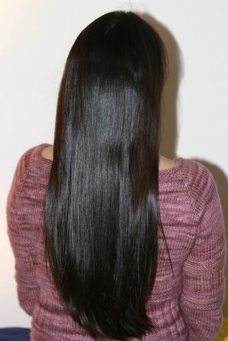 My soon-to-be-donated hair