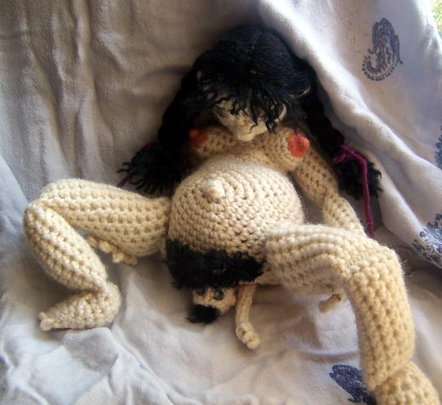 crochet, patron, couple, bébé, éducation sexuelle, enfant, mariage, tuto, laine, tricot, zizi