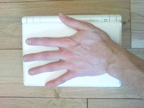 Hand sized EeePC