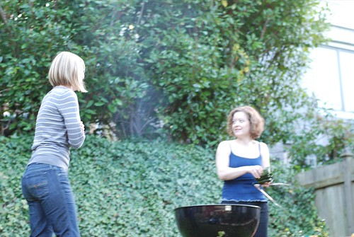 grillin' and chattin