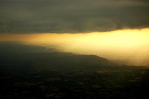 The unfolding sky