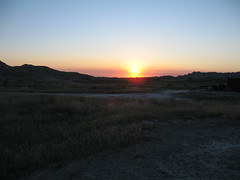 Badlands Sunset I