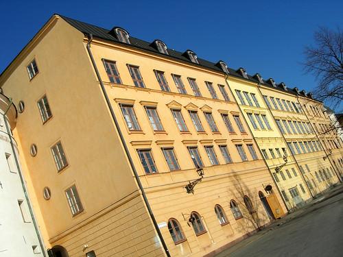 Houses at Riddarholmen, Stockholm
