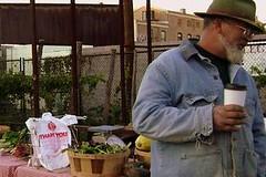 Ralph Packard at farmers market