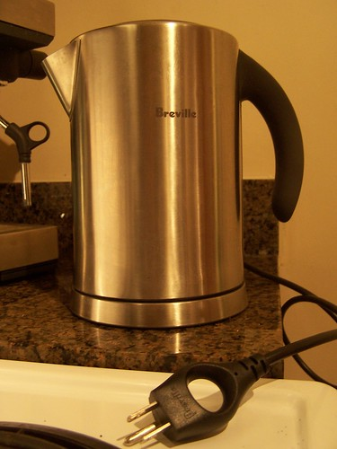 Our new kettle by Breville