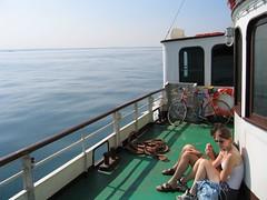 Mia bici sul Piroscafo Italia