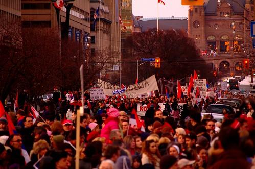 Kosovo Protest at U of T