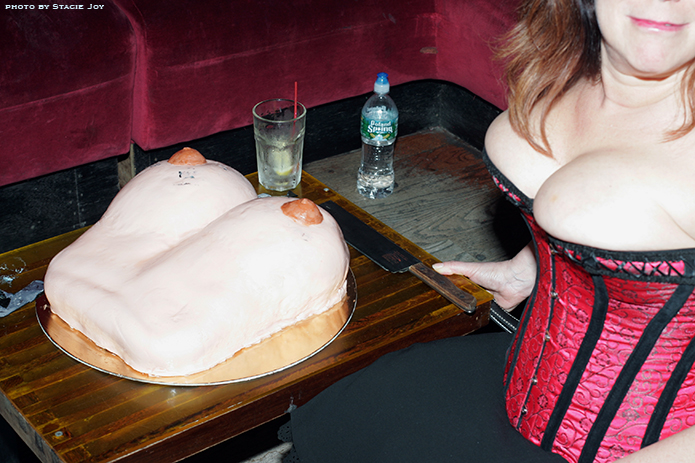 Boob cake plus boobs