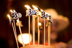 Not quite 30 candles