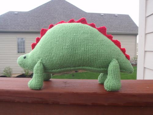 Brian's Roaring Dinosaur