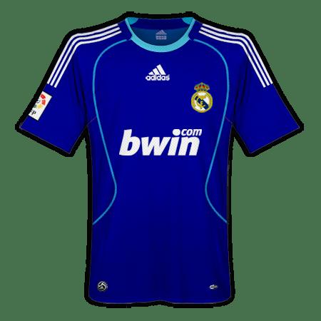 Camisetas Real Madrid Temporada 2008 09  7d3ec2007b695