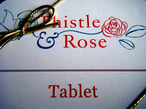 Thistle and Rose Tablet 2
