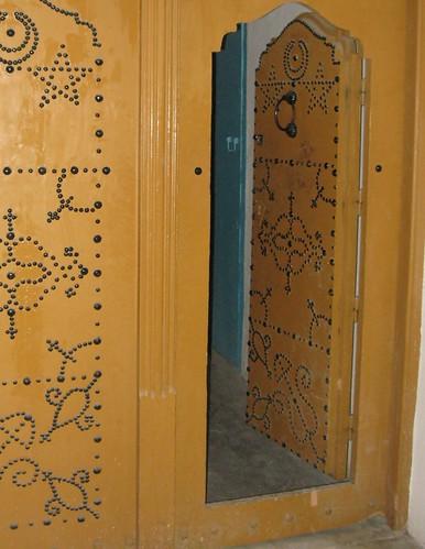 Gold Door in Tunis