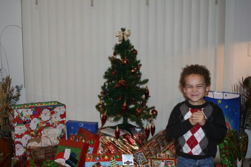 Aidan and Grandmommy's Tree