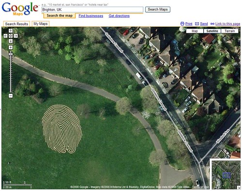 20 Awesome Images Found In Google Maps - Search Engine Land