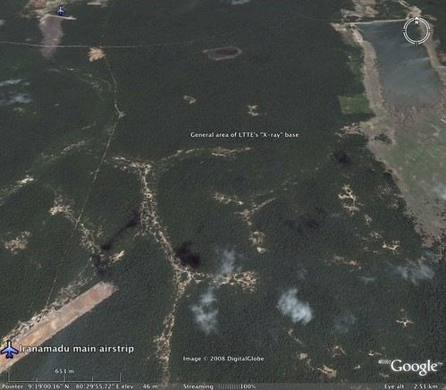 General area of LTTE