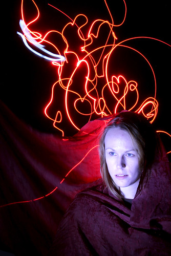 Light painting - Arieanna