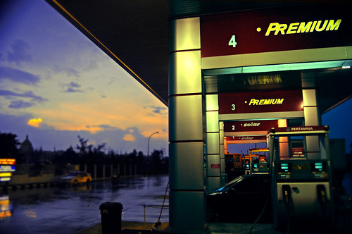 Gasoline station