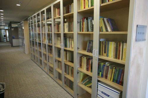 Lots of book cases