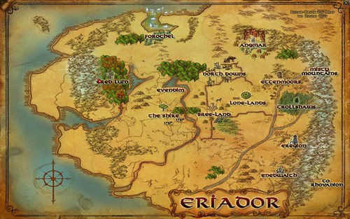 Map - Eriador 001