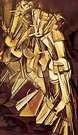 Marcel Duchamp.  Nu sur une échelle.  1912.