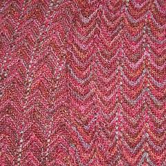 ripple stitch scarf