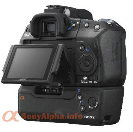 Sony Alpha-LV (Live View) LCD angle up