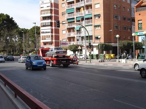 Plaza de la Cruz Verde en la actualidad