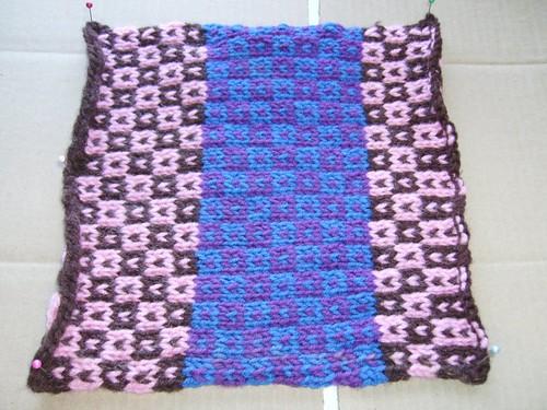 oddball sampler afghan square 19 little boxes