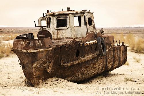 Aral Sea, Moynaq