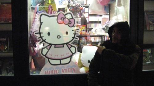 Flo loves Hello Kitty
