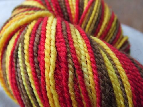 Tempted Handpainted yarns